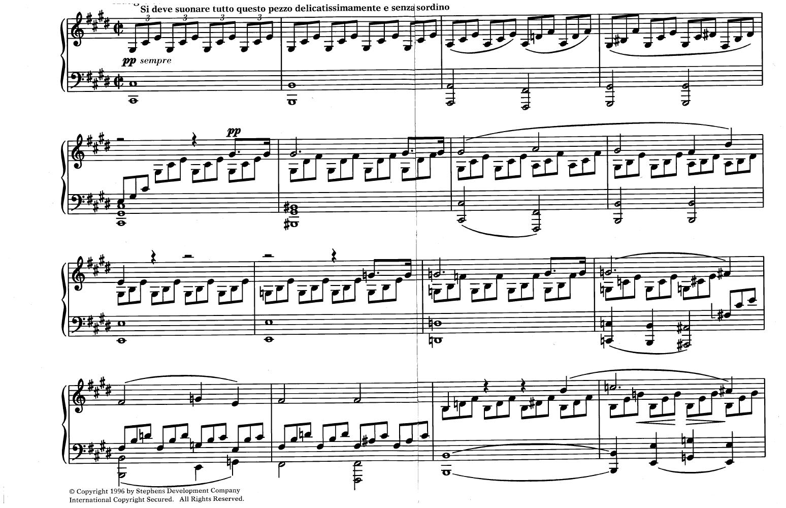 Moonlight Sonata by Ludwig van Beethoven| J W  Pepper Sheet