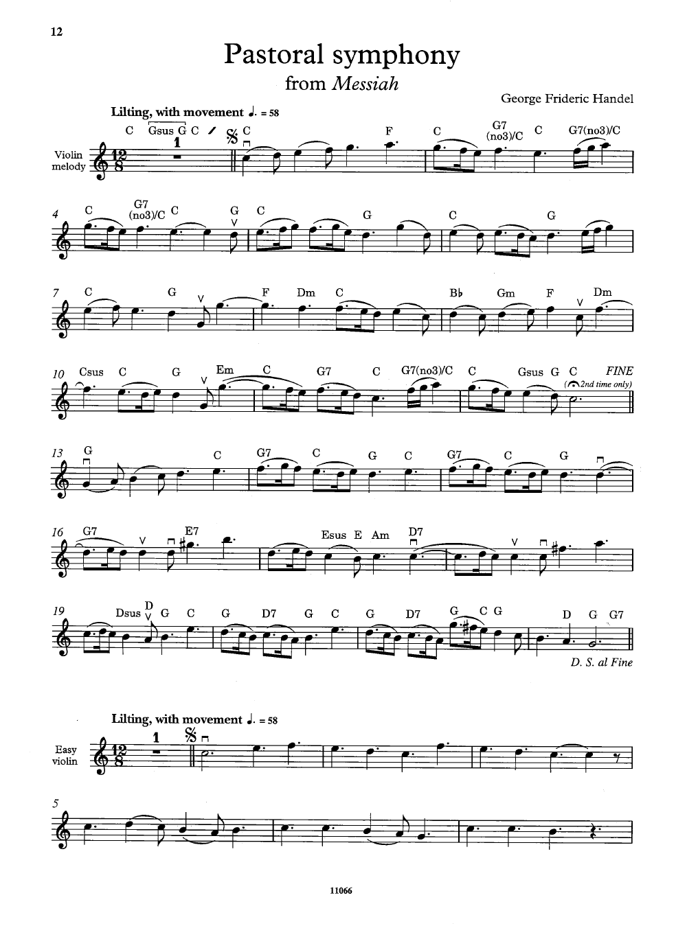 Christmas Violin.The Christmas Fiddler Violin Solo With Pian J W Pepper