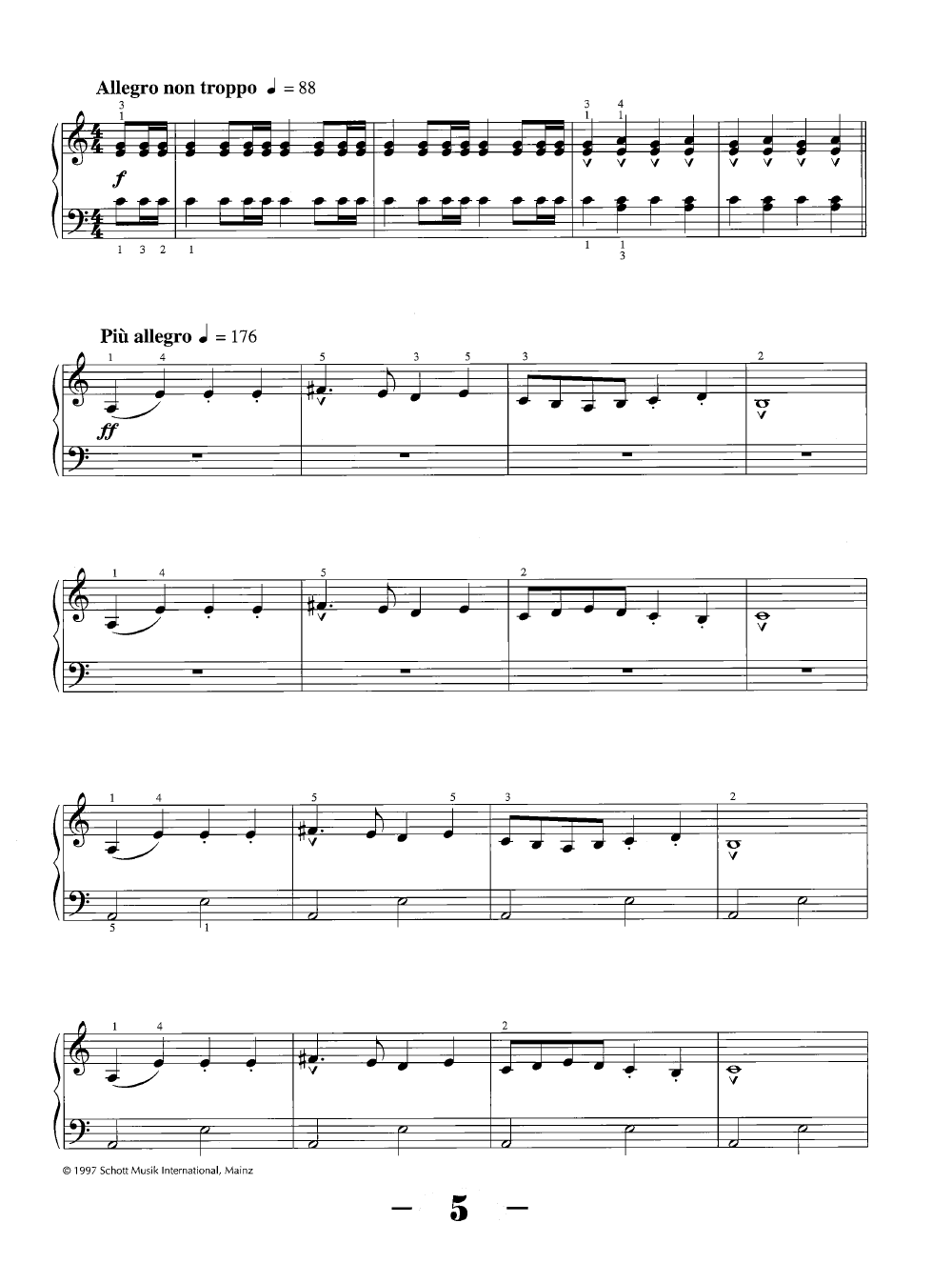 The Carnival of the Animals (Piano) by Camille Sa   J W  Pepper Sheet