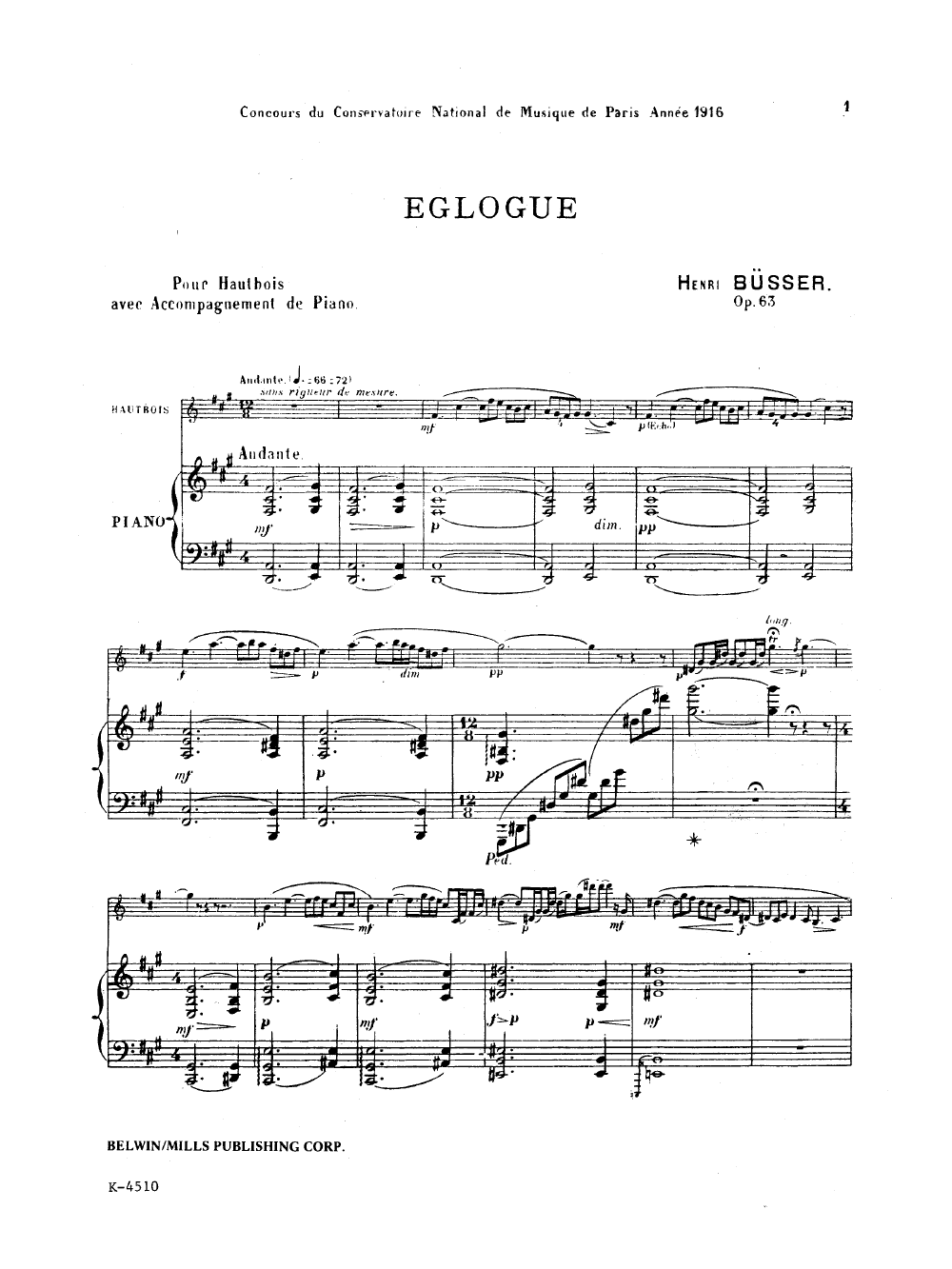 Full Study and Miniature Scores