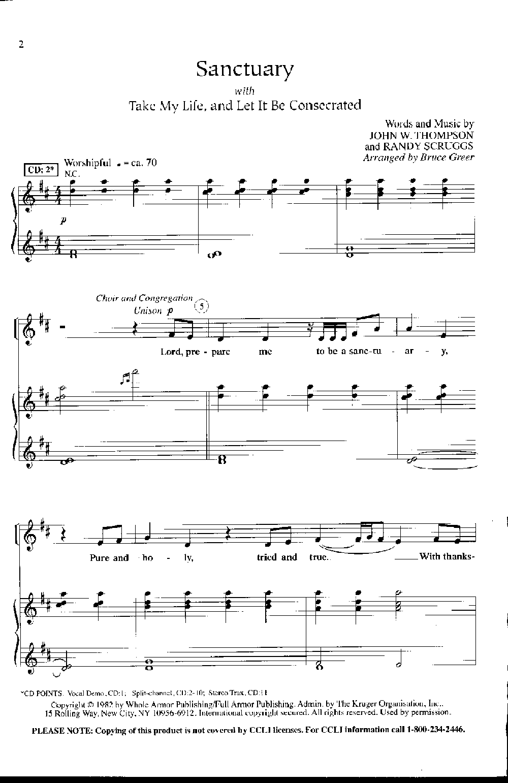 picture about Let It Be Piano Sheet Music Free Printable referred to as Sanctuary with Get My Everyday living and Enable It Be Consecr J.W.